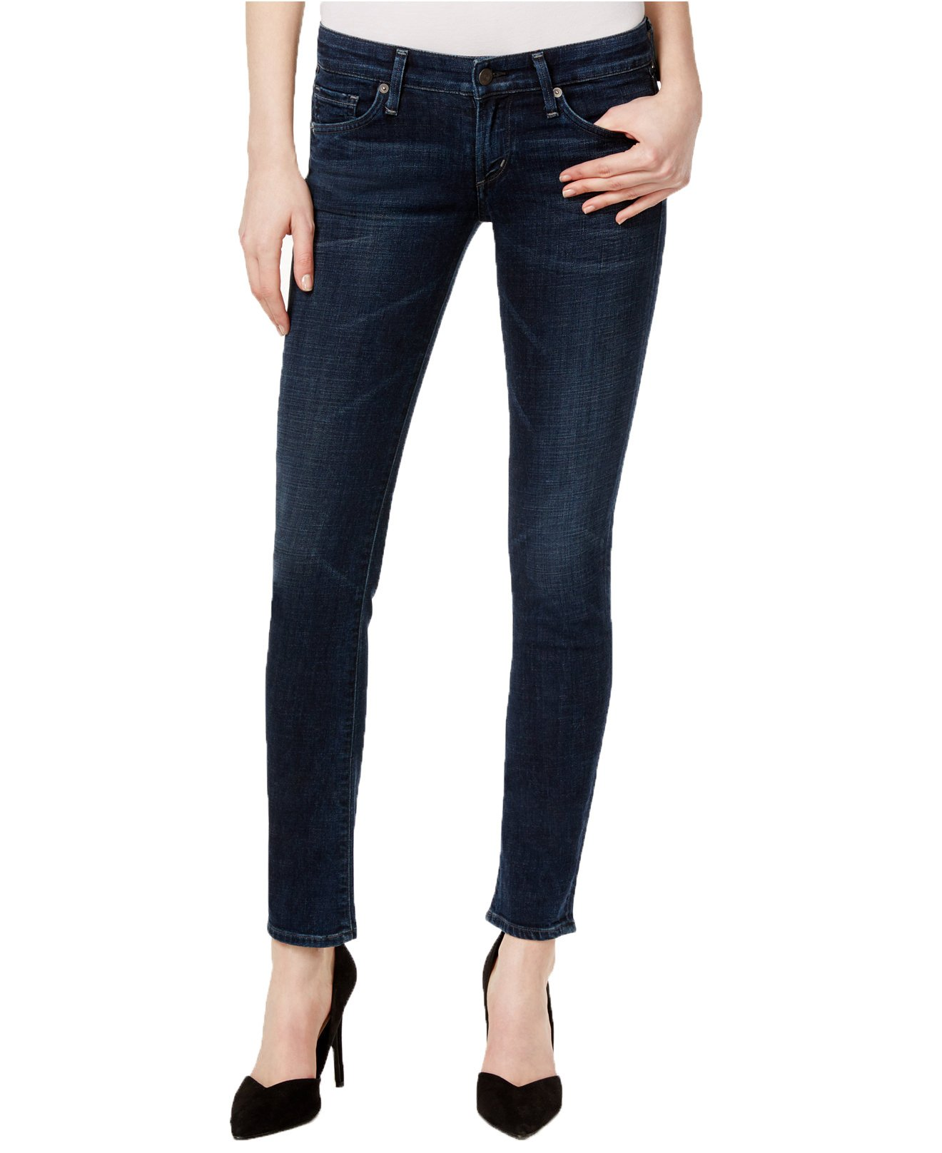 Citizens of Humanity Women's Racer Low Rise Skinny Jeans (29, Oak Ridge Wash) by Citizens of Humanity
