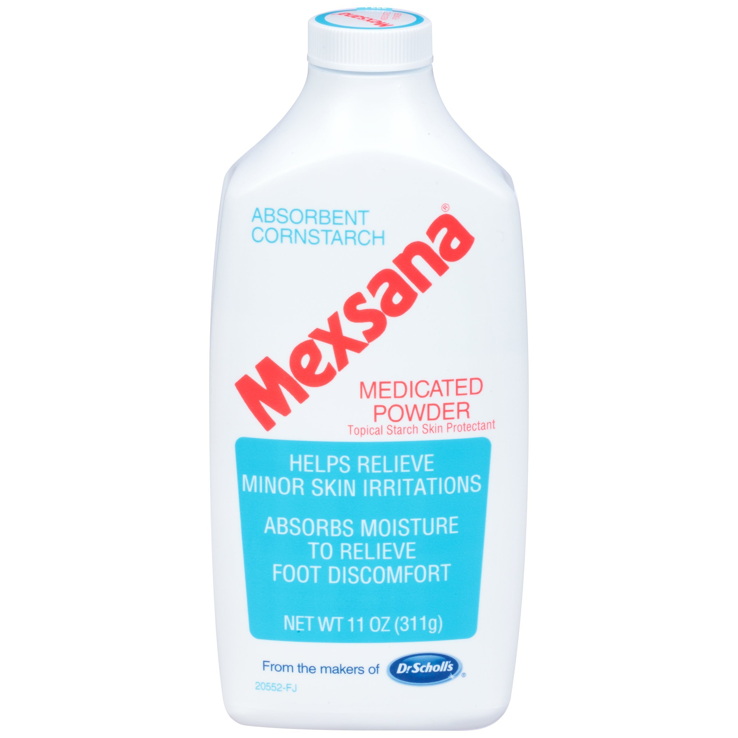 Mexsana Medicated Powder, 11-Ounce Bottle (Pack of 4)