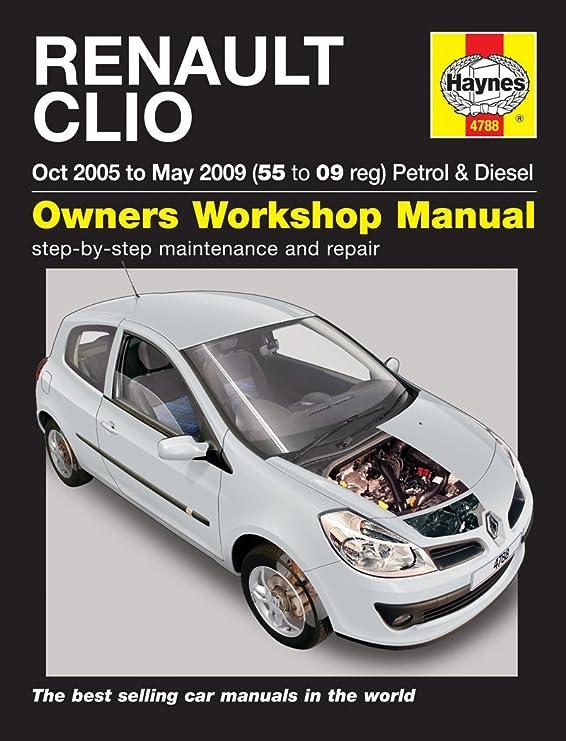 renault clio repair manual haynes manual service manual workshop rh amazon co uk 2004 renault clio user manual 2003 Renault Clio