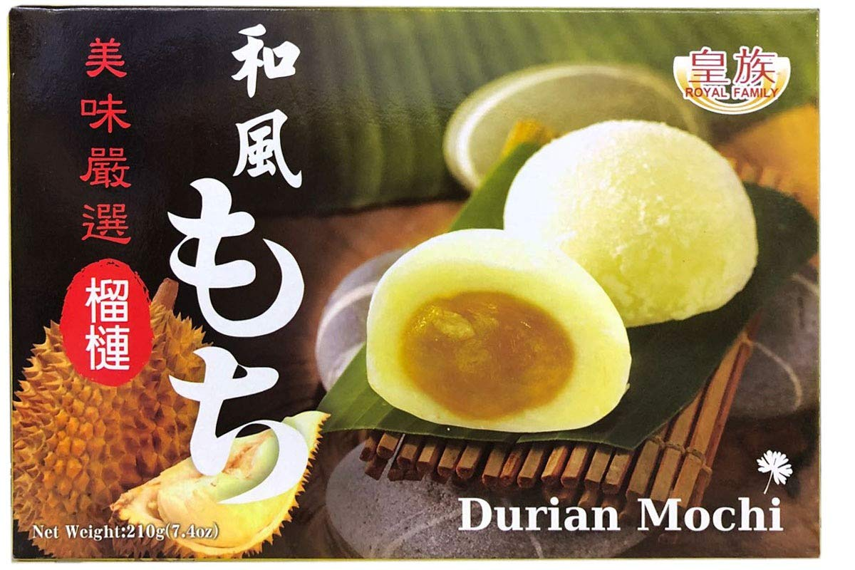 Japan Authentic Style Mochi Durian Mochi 榴莲麻糬 - Total of 2 boxes by RF