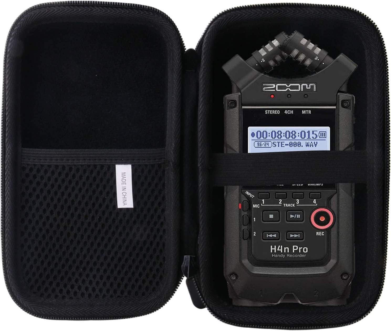 waiyu Hard Carrying Case for Zoom H4n Pro 4-Track Portable Recorder