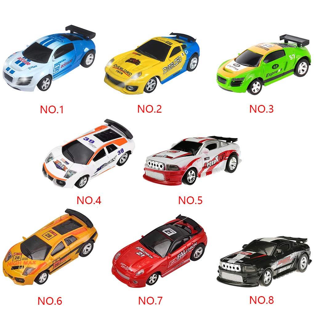 Junecat RC Auto Radio 20 km//h pu/ò Mini Telecomando Senza Fili Micro Vettura da Corsa del Veicolo Toy Model Car Bambini