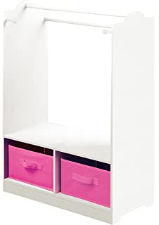 Liberty House Toys Dress Up With Storage, Wood, White