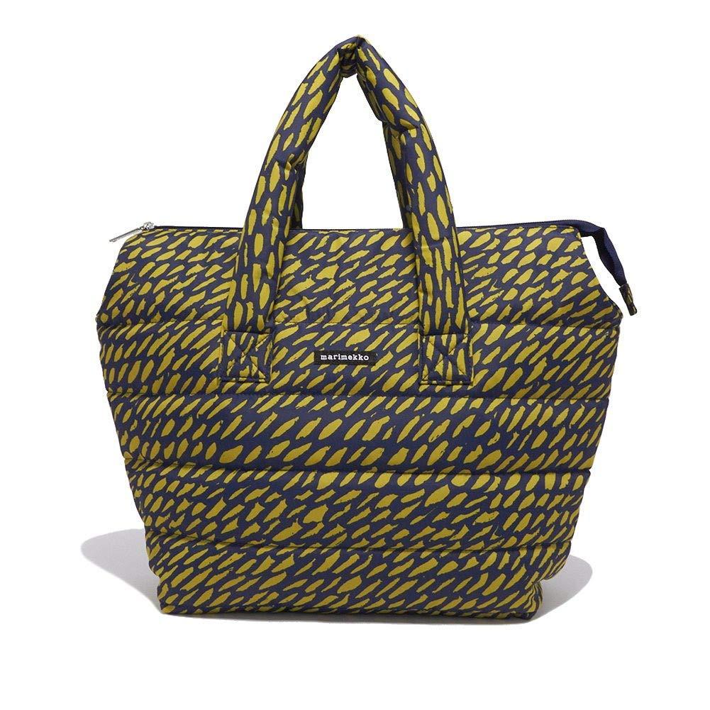 [マリメッコ] ハンドバッグ marimekko ミラ 046360 650 BLUE GREEN[並行輸入品] B07L863CPL