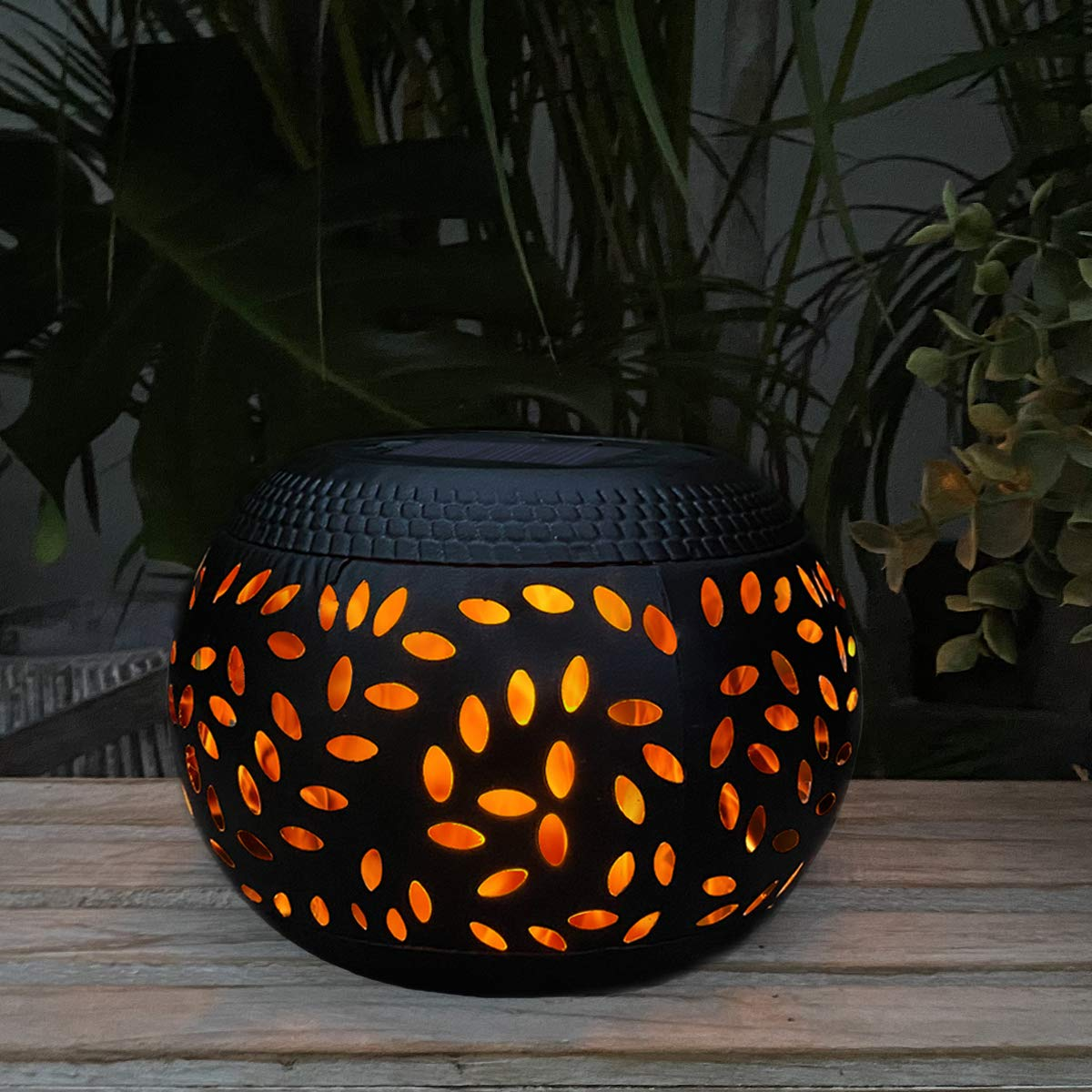 Solar Table Lantern Outdoor Waterproof
