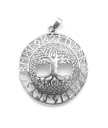Colgante/Amuleto Tree of Life vida algodón/Mundo Árbol con ...