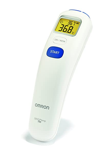 OMRON Gentle Temp 720 - Termometro de frente por infrarrojos, color blanco