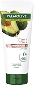 Palmolive Naturals Hair Conditioner Vibrant Colour Pomegranate and Avocado for Colour Treated Hair, 350mL