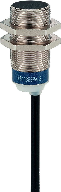 /L62/MM/ Schneider Electric XS518B1MBL2/sensore 5/mm 62/mm /SN5/MM/ /24.240/VAC//DC/ sensore induttivo XS5/M18/ /ottone/ /Cavo 2/m