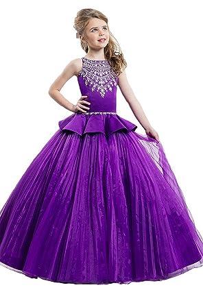 Dark Purple Ball Gown