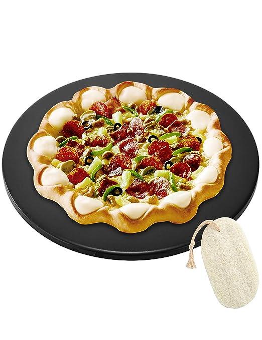 GOVOG - Piedra para pizza para horno, parrilla o barbacoa: Amazon ...