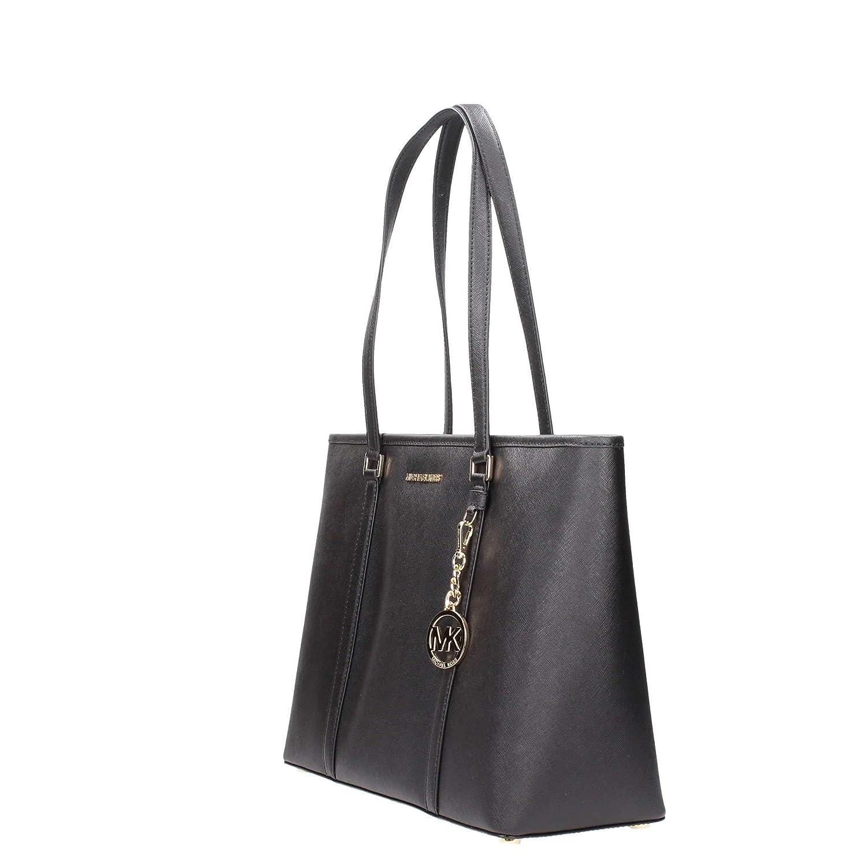Amazon.com  Michael Kors Large Sady Carryall Shoulder Bag (Black)  Shoes 23f3de2e3b148