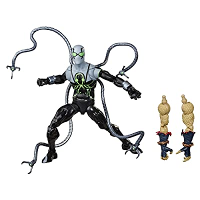 "Spider-Man Hasbro Marvel Legends Series 6"" Collectible Action Figure Superior Octopus Toy, with Build-A-Figurepiece & Accessories: Toys & Games"