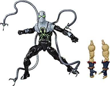 Hasbro Marvel Spider-Man Legends Series 6-inch Collectible Action Figure Superior Octopus Toy, With Build-A-Figure Pieces and Accessories