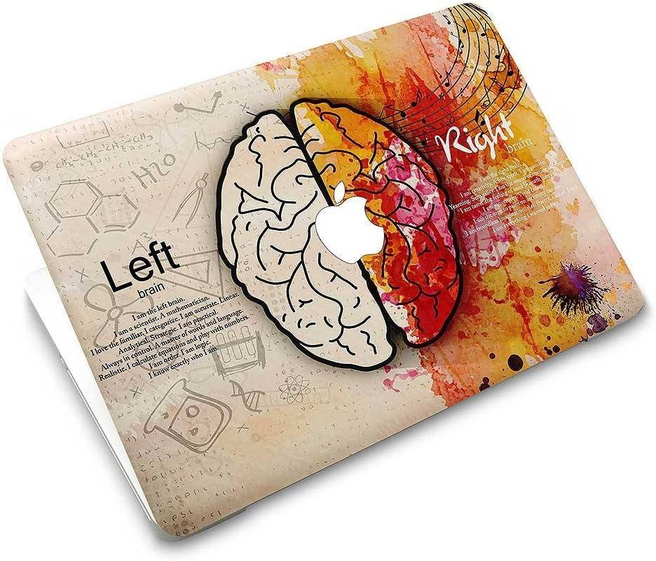 KBubble MacBook Laptop Vinyl Decal Sticker Skin for MacBook M0703 Left Brain vs Right Brain (MacBook Air 11 inches)