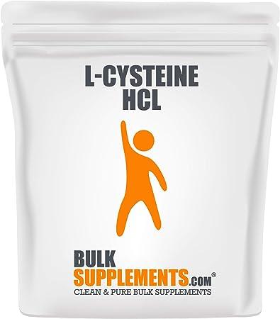 BulkSupplements.com L-Cysteine HCl - Lung Support Supplement - L-Cysteine 500 (500 Grams)