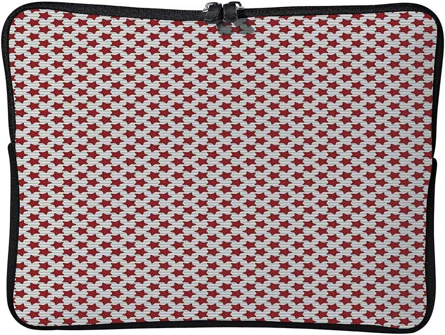 C COABALLA Stars 5 Pointed Stars with Dots On Maritime Laptop Sleeve Case Water-Resistant Protective Cover Portable Computer Carrying Bag Pouch for Laptop AM030183 15 inch//15.6 inch