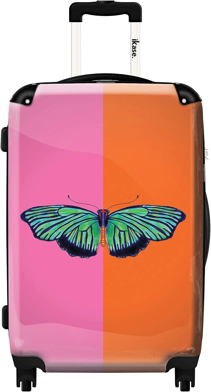 Ikase Hardside Spinner Luggage Hal Color Block