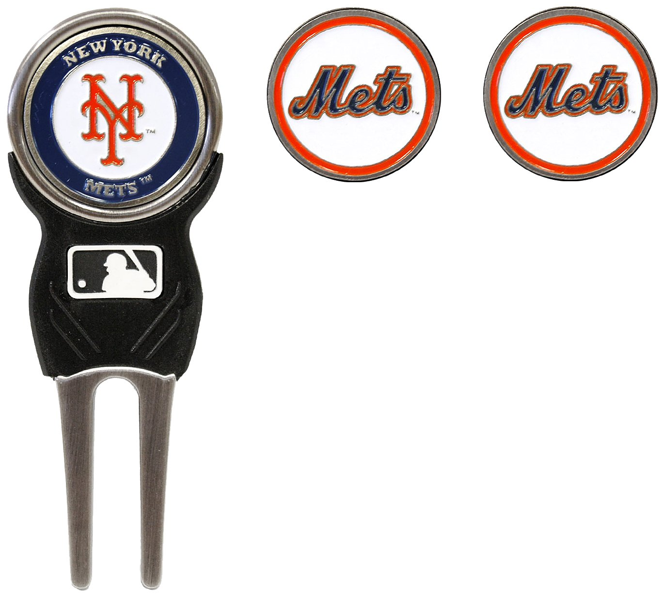 MLB New York Mets Divot Tool Pack With 3 Golf Ball Markers