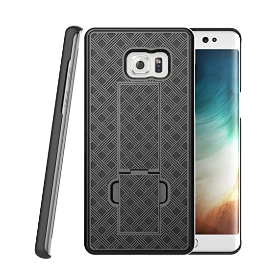 official photos f0a7a 85b11 Galaxy Note 7 Case, BEKASE (TM) Hard Shell Holster Combo Matte Finish  Protective Slim Case for Samsung Galaxy Note 7 with KickStand & Locking  Belt ...