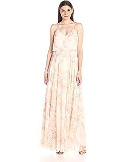 2ee56fa9eba Amazon.com  Jenny Yoo Women s Inesse V Neck Gown  Clothing