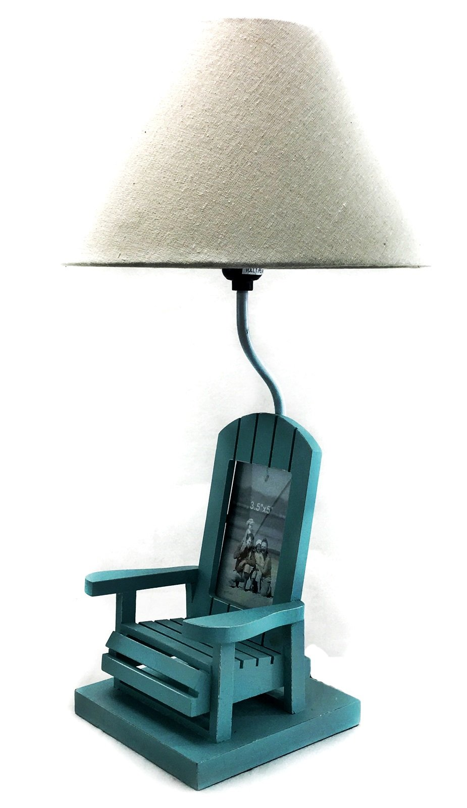 Bellaa 27727 Adirondack Designer Table Lamp with Empire Shade Nautical Coastal Living
