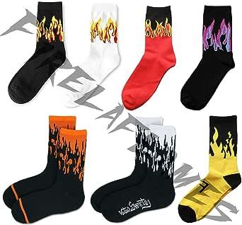 Fire Socks   Socks For Sneakerheads   Sneakerhead Skateboard Supreme Hypebeast