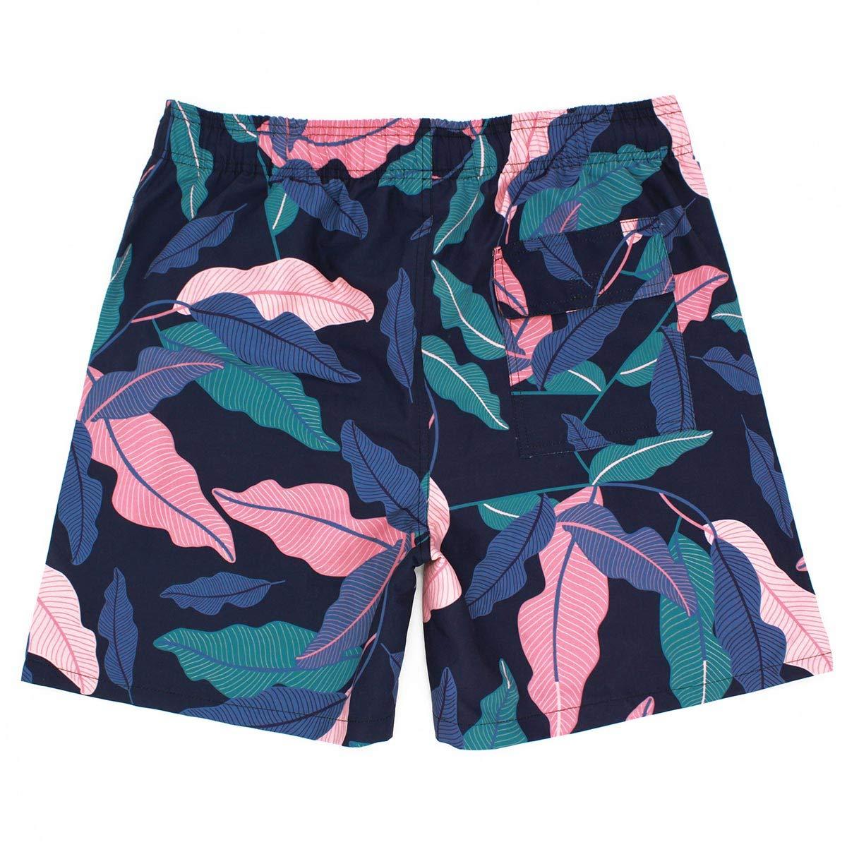 Aivtalk Men Swim Trunks Quick Dry Beach Shorts Adjustable Summer Swimwear