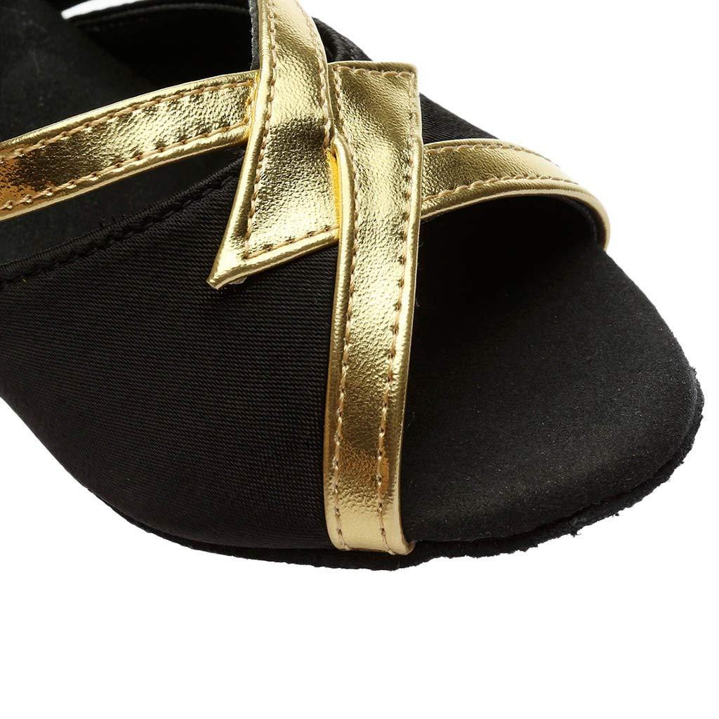 Pandaie Womens .. Sandals Womens Solid Fashion Rumba Waltz Prom Ballroom Latin Salsa Dance Shoes Sandals