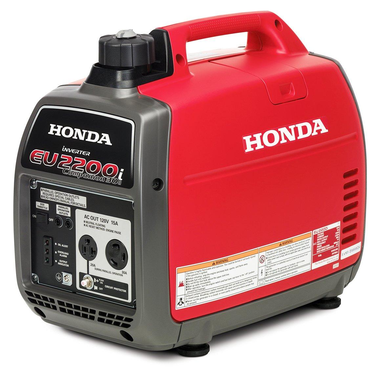Amazon Com Honda Eu2200ic 2200 Watt Companion Super Quiet Portable