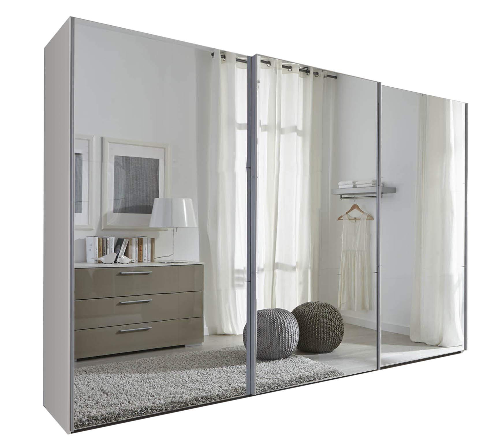 Schlafzimmer Komet White Mirror Sliding Door Wardrobe 301cm Wide German Made Bedroom Furniture Buy Online In Guatemala At Guatemala Desertcart Com Productid 90740842