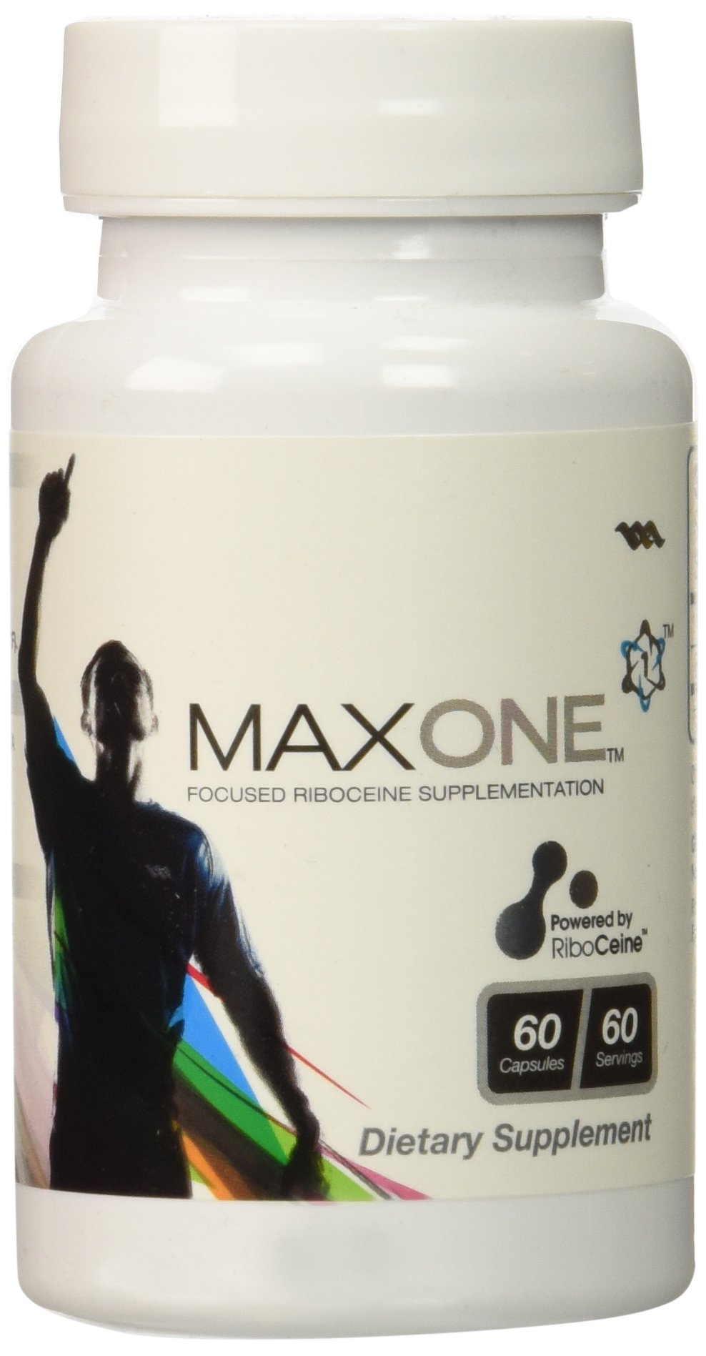 Max One, Focused Riboceine Supplementation, 60 Vegetable Capsules, 30 Servings