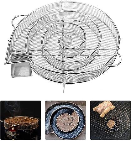Hicollie BBQ Generateur Fum/ée Froide Parfait pour Le Saumon Fum/é Bo/îte de Fumoir Le Porc Et Plus Bo/îte de Fumoir de Granule