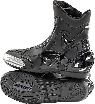 Joe Rocket Joe Rocket Super Street RX14 Black Leather Motorcycle Boots 11