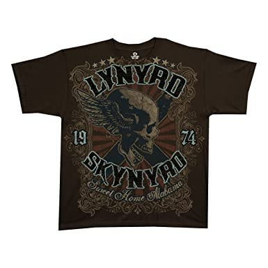 66fe3982 Amazon.com: Lynyrd Skynyrd Sweet Home Alabama - Adult T-Shirt: Clothing