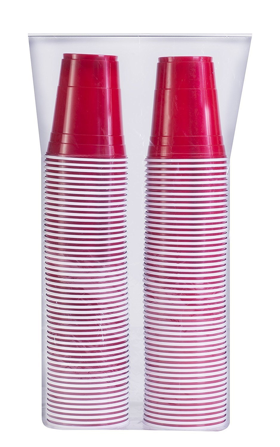 Amazon.com: Red Solo Cup Cold Plastic Party Cups 16 Ounce 100 Pack ...