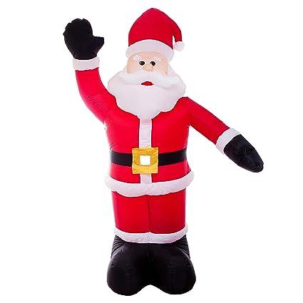 Amazon.com: Athoinsu - Figura de Papá Noel de Navidad para ...