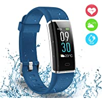 AUSUN Fitness Tracker, 130 Plus Color Activity Tracker IP68 Impermeabile Orologio Fitness