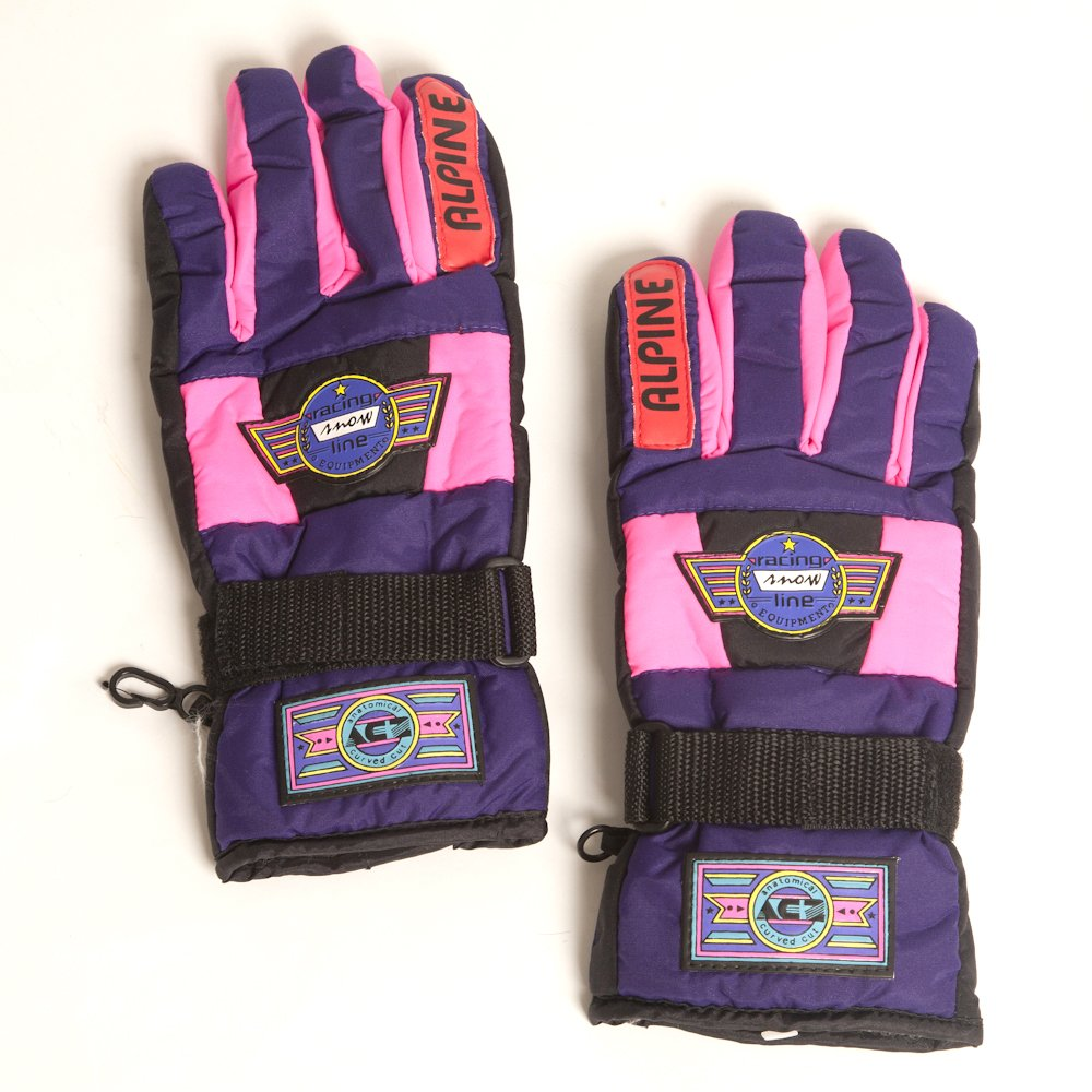 Accessoryo Girls Racing Snow Line Thick Fashion Gloves