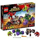 レゴ (LEGO) スーパー・ヒーローズ ハルク vs レッドハルク 76078