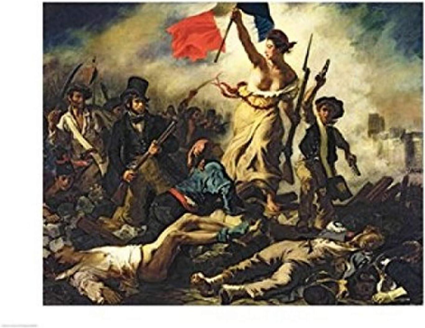 Amazon Com Posterazzi Liberty Leading The People 28 July 1830
