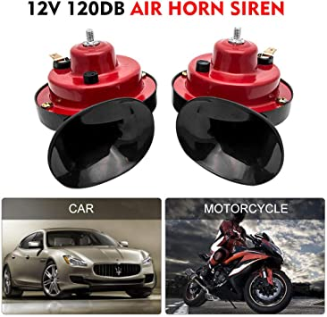 Auto 150dB 12V Motorcycle Truck Loud Snail Air Horn Siren Waterproof Part