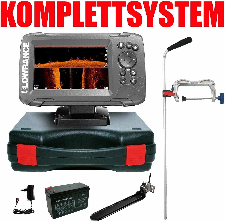Lowrance Echolot Your Design portátil profesional – hook2 5 Triple Shot Chirp Combo GPS: Amazon.es: Deportes y aire libre
