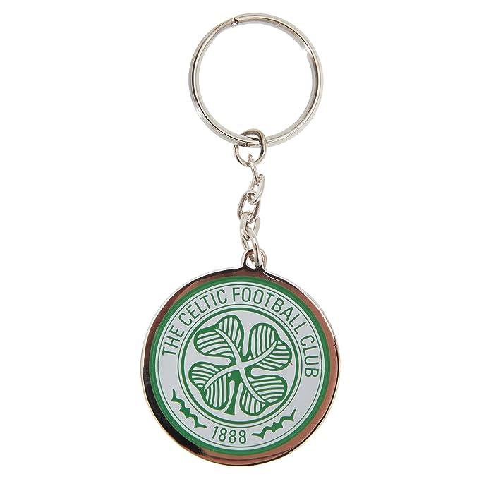 Amazon.com: Celtic FC Oficial Fútbol de metal llavero con ...