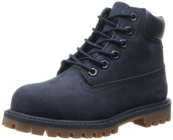 Timberland 6 In Premium Waterproof, Botas Clasicas Unisex Niños, Azul (Medium Blue Nubuck), 32 EU: Amazon.es: Zapatos y complementos