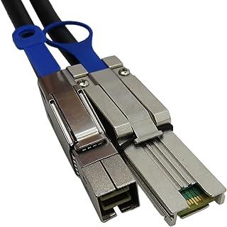 YIWENTEC External HD Mini SAS SFF-8644 to SFF-8088 Cable (H0506-2M)