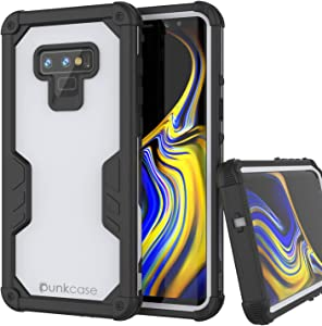 Punkcase Galaxy Note 9 Waterproof Case [Navy Seal Extreme Series] [Slim Fit] [IP68 Certified] [Shockproof] [Dirtproof] 360 Full Body Armor Cover Compatible with Samsung Galaxy Note 9 [White]