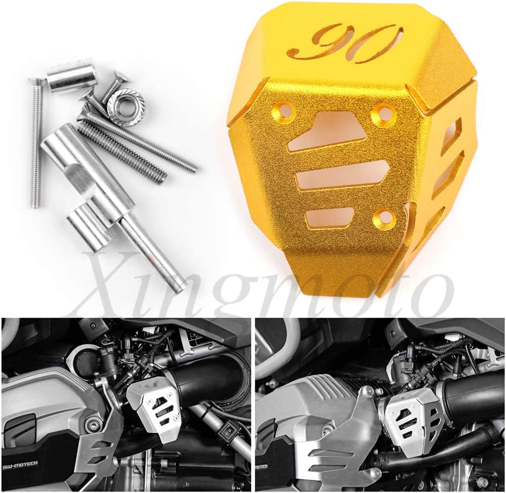 NBX Replacement of Potentiometer Guard Protector Cover For Compatible with BMW RnineT Scrambler 1N12 2016 2017 2018 Gold