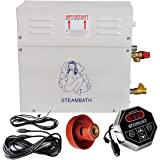 ECO LLC 220V 9KW Steam Generator Sauna Bath Home Spa Shower & ST-90 Controller