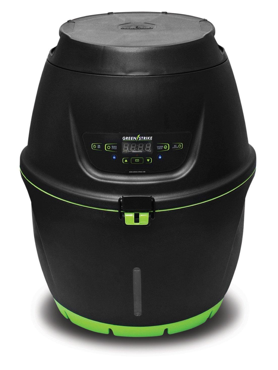 GreenStrike Mosquito Preventer Featuring Zero Hatch Technology, Black